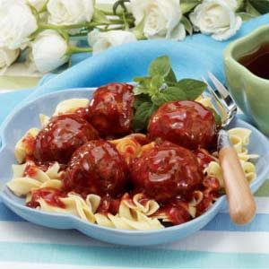 Sweet 'n' Tangy Meatballs Recipe