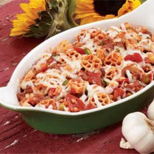 Sausage Pasta Bake Recipe