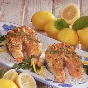 Macadamia-Crusted Salmon Recipe