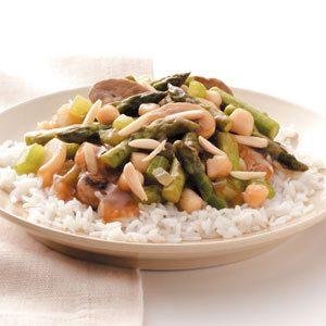 Asparagus Scallop Stir-Fry Recipe