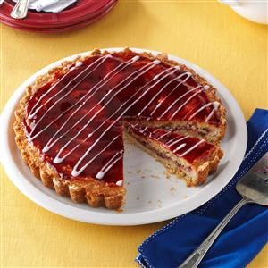 Raspberry Almond Tart Recipe