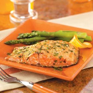 Grilled Orange Salmon Recipe