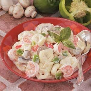 Creamy Shrimp Tortellini Recipe