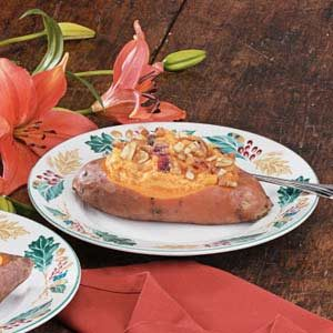 Pineapple-Stuffed Sweet Potatoes Recipe