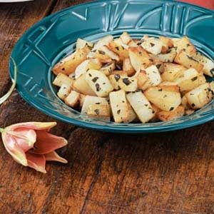 Oregano Cubed Potatoes Recipe