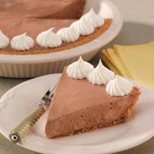 No-Bake Chocolate Pie