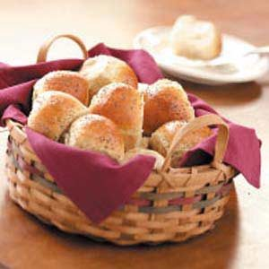 Two-Grain Yeast Rolls