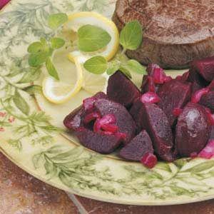 Lemony Beets Recipe
