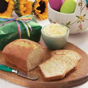 Poppy Seed Lemon Loaves Recipe