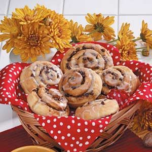 Chocolate Chip Cinnamon Rolls
