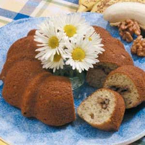 Sour Cream Banana Coffee Cake Recipe