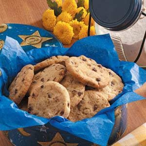 Chocolate Chip Icebox Cookies Recipe