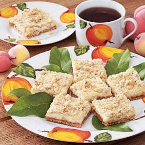 Apricot Cheesecake Bars Recipe