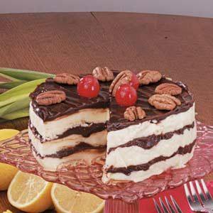 Hot Fudge Ice Cream Dessert Recipe