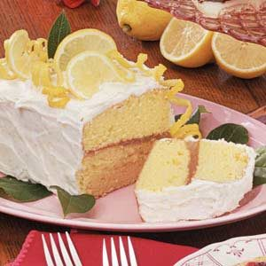 Luscious Lemon Layer Cake Recipe