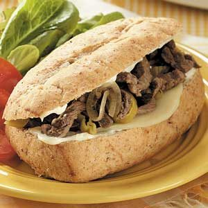 Italian Sirloin Beef Sandwiches Recipe