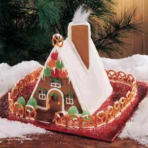 Gingerbread Chalet Recipe