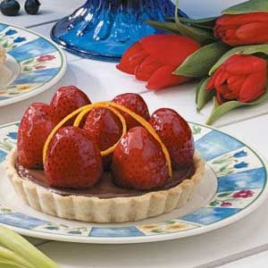 Strawberry Truffle Tarts Recipe
