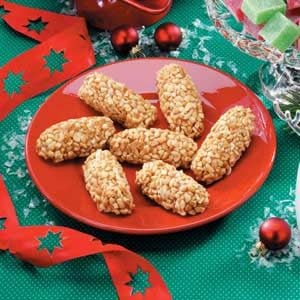 Peanut Candy Logs Recipe