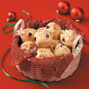 White Chocolate Berry Muffins Recipe