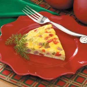 Oven -Baked Western Omelet Recipe photo by Taste of Home