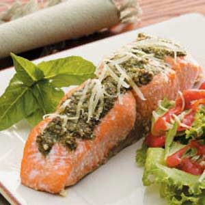 Basil Salmon Recipe
