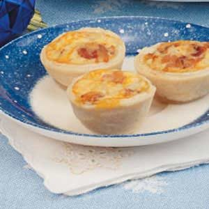 Mini Bacon Quiches Recipe