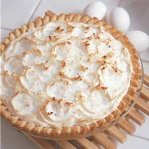 Old-Fashioned Coconut Pie Recipe