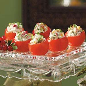 Radish-Stuffed Cherry Tomatoes Recipe