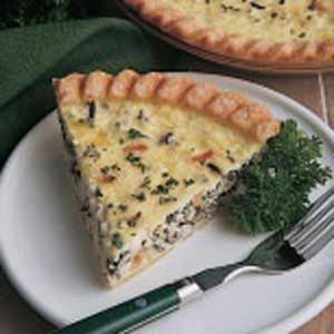 Wild Rice Quiche Recipe