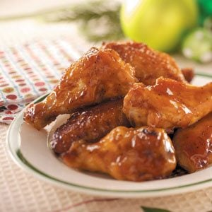 Honey Barbecue Wings Recipe