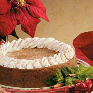 Holiday Spice Cheesecake Recipe