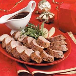 Pork Tenderloin with Plum Sauce Recipe
