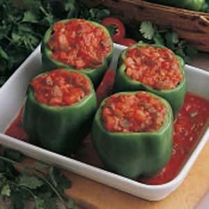 Spicy Stuffed Peppers Recipe