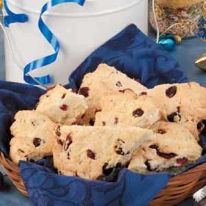 Quick Cranberry Scones Recipe
