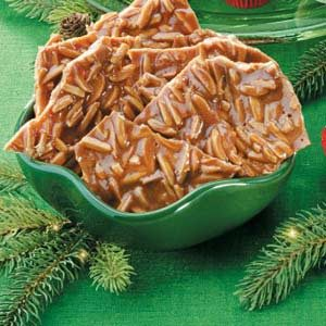 Cinnamon Almond Brittle Recipe