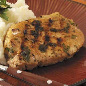 Marinated Grilled Pork Chops Recipe
