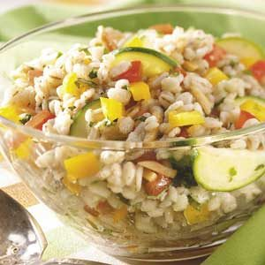 Veggie Barley Salad Recipe