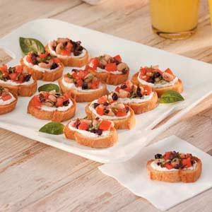 White Bean Bruschetta Recipe