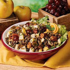 Fruited Wild Rice Salad Recipe
