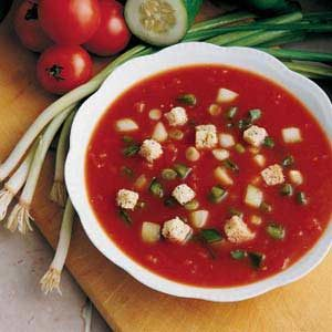 Quick Gazpacho Recipe