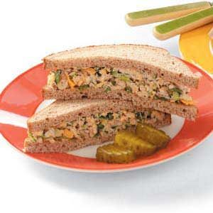 Tuna Cheese Sandwiches Recipe