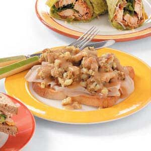 Hot Fast Turkey Sandwiches Recipe