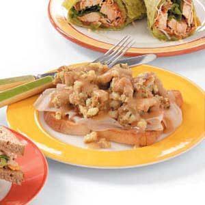 Hot Fast Turkey Sandwiches Recipe