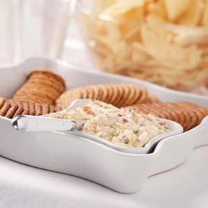 Garlic-Onion Cheese Spread Recipe