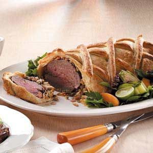 Beef Wellington with Madeira Sauce Recipe