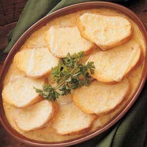 Swiss and Onion Casserole Recipe