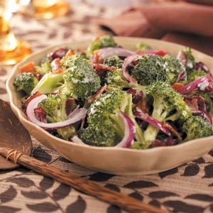Cranberry Broccoli Salad Recipe
