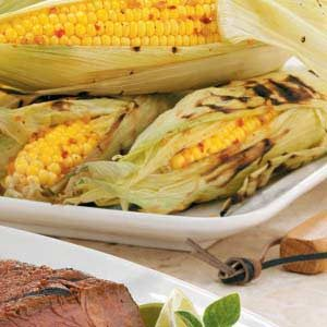 Sweet 'n' Spicy Roasted Corn