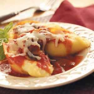 Italian Cheese-Stuffed Shells Recipe